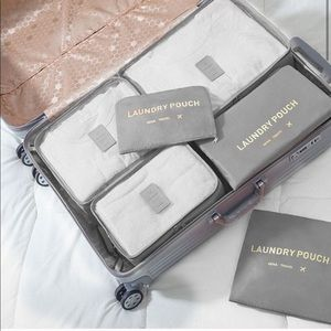 Other - 6-Piece Luggage Organizers